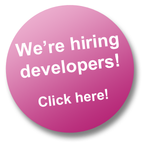 We're hiring developers! Click here!
